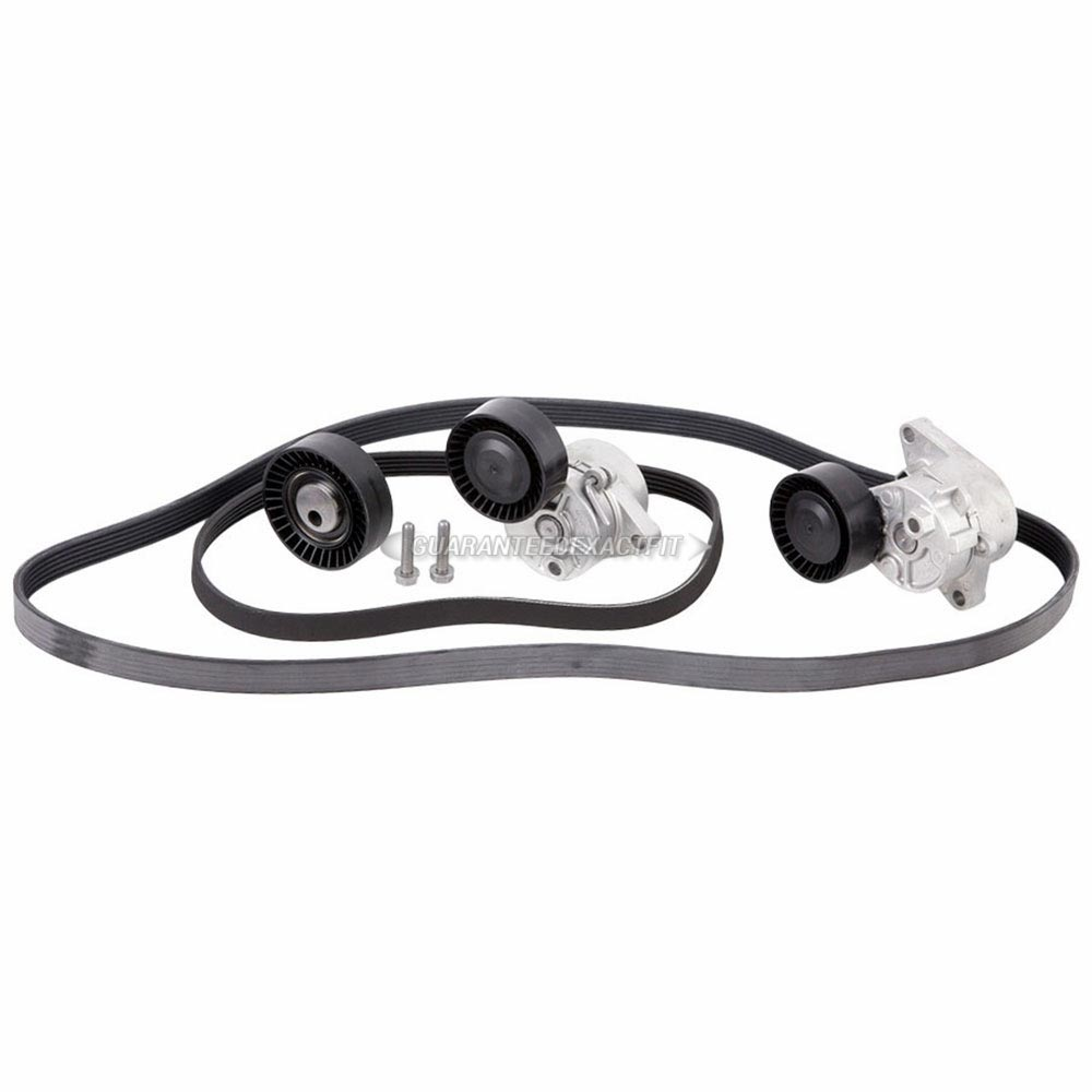 BMW 528                            Serpentine Belt and Tensioner KitSerpentine Belt and Tensioner Kit