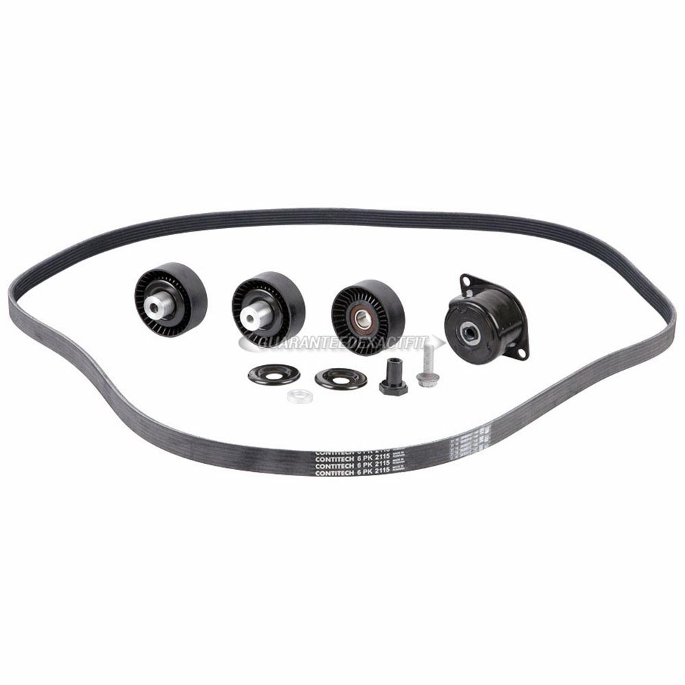 Porsche Cayman                         Serpentine Belt and Tensioner KitSerpentine Belt and Tensioner Kit