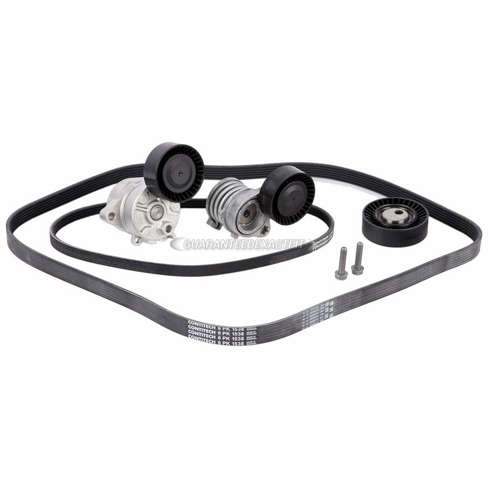 BMW 530                            Serpentine Belt and Tensioner KitSerpentine Belt and Tensioner Kit