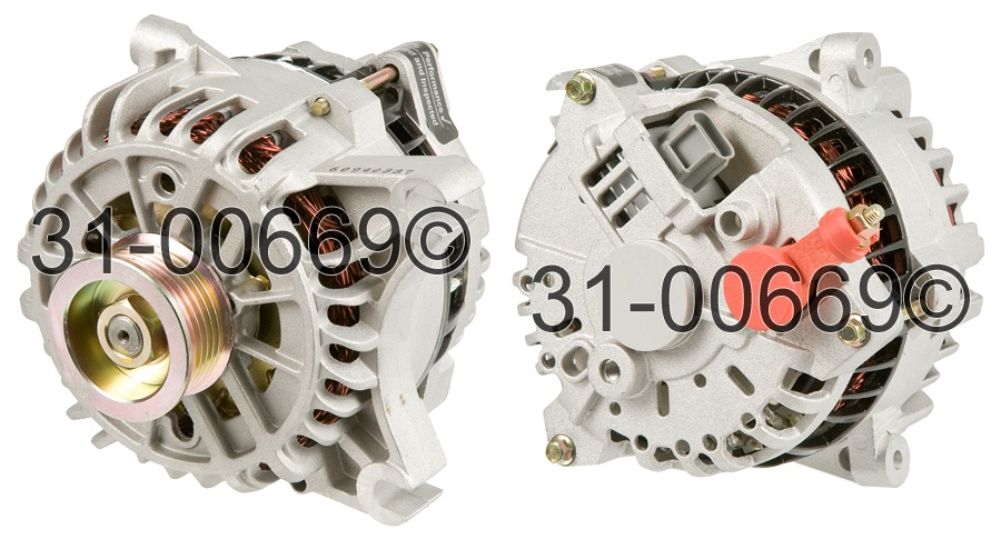 Lincoln Continental alternator