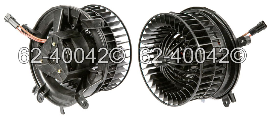 Mercedes Benz E55 AMG Blower Motor