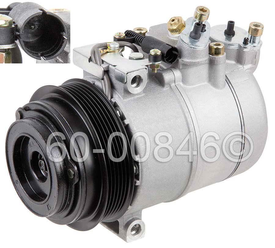 Mercedes_Benz C280                           A/C Compressor