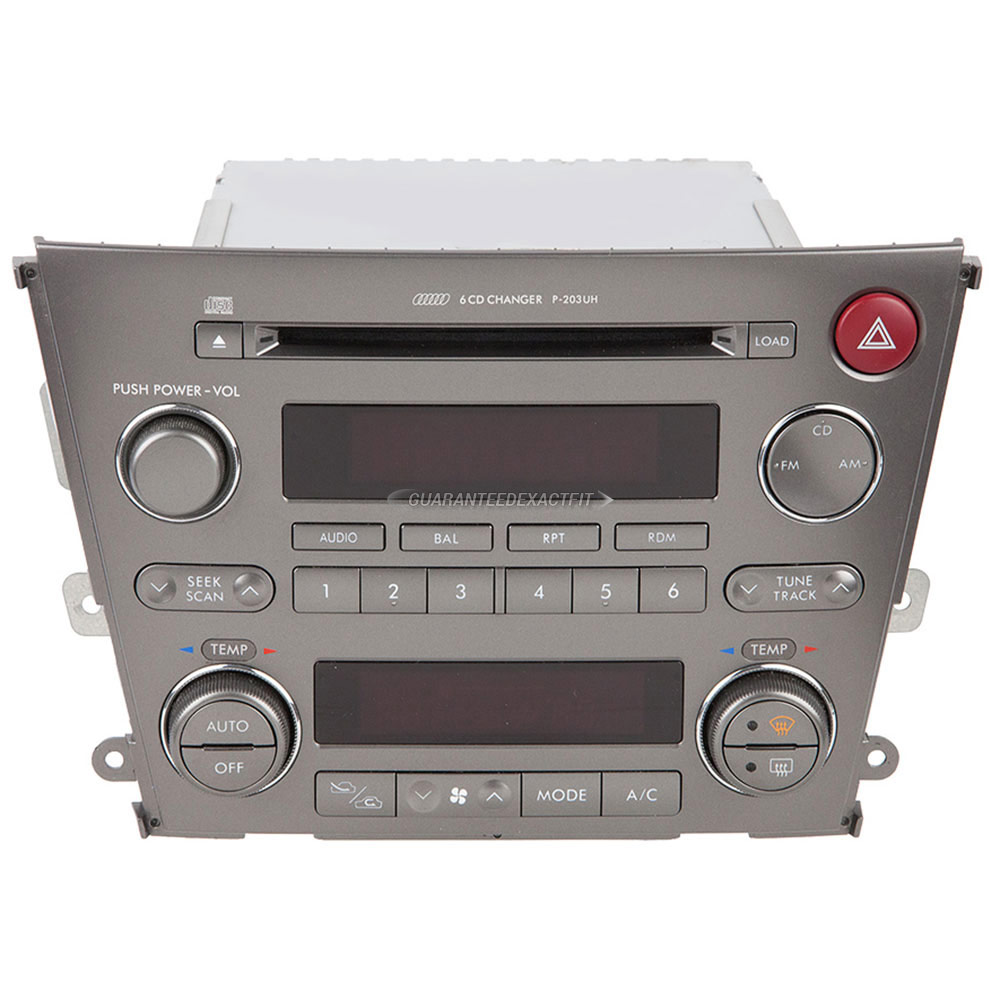 Subaru Legacy                         Radio or CD PlayerRadio or CD Player