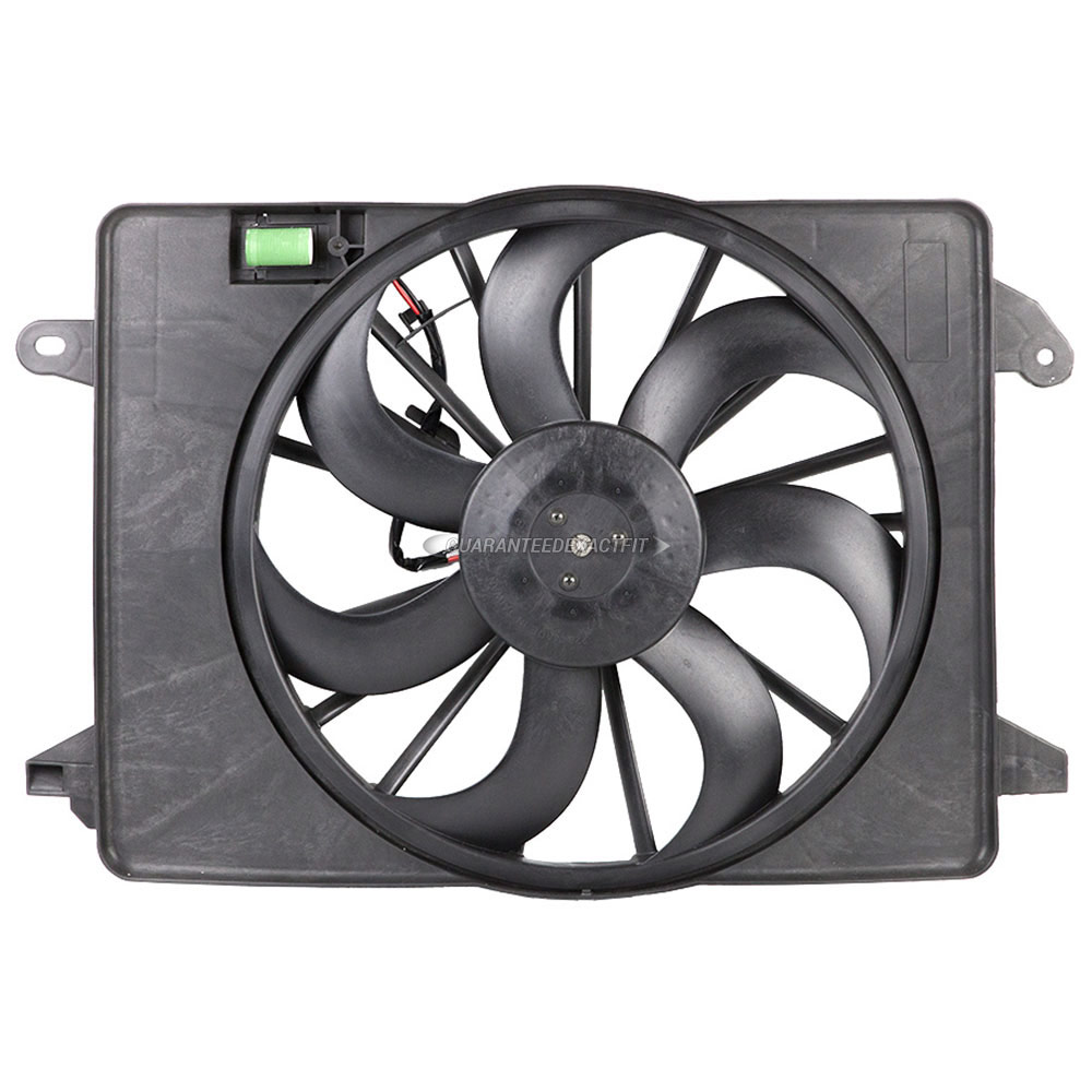 Dodge Challenger                     Cooling Fan AssemblyCooling Fan Assembly