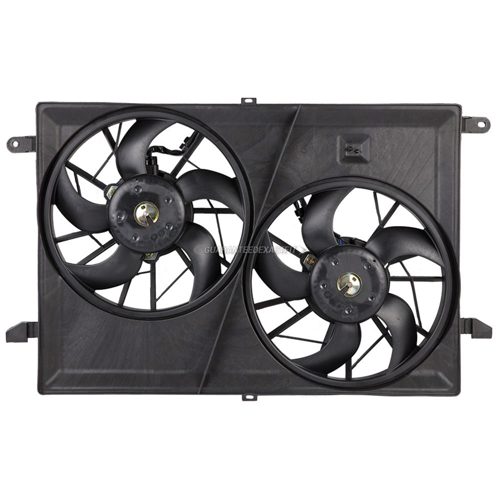 Chevrolet Traverse                       Cooling Fan AssemblyCooling Fan Assembly
