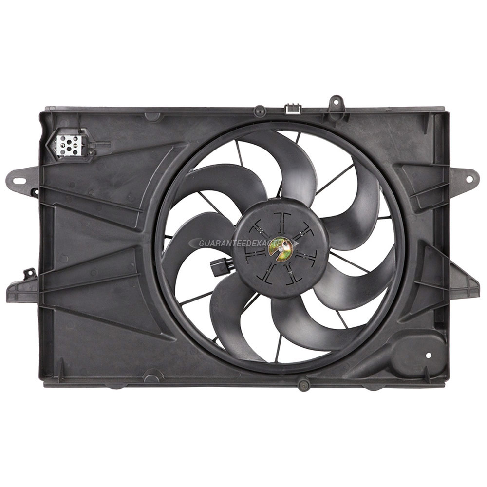 GMC Terrain                        Cooling Fan AssemblyCooling Fan Assembly