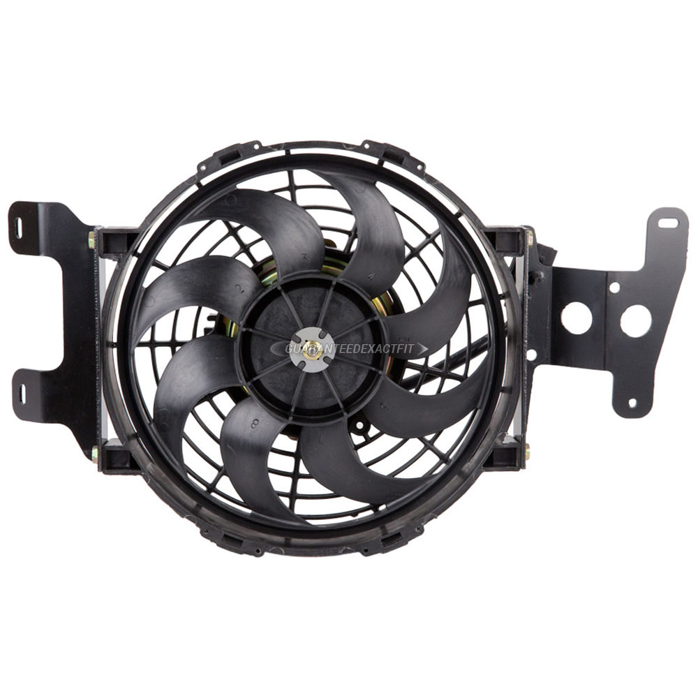 Mercury Mountaineer                    Cooling Fan AssemblyCooling Fan Assembly