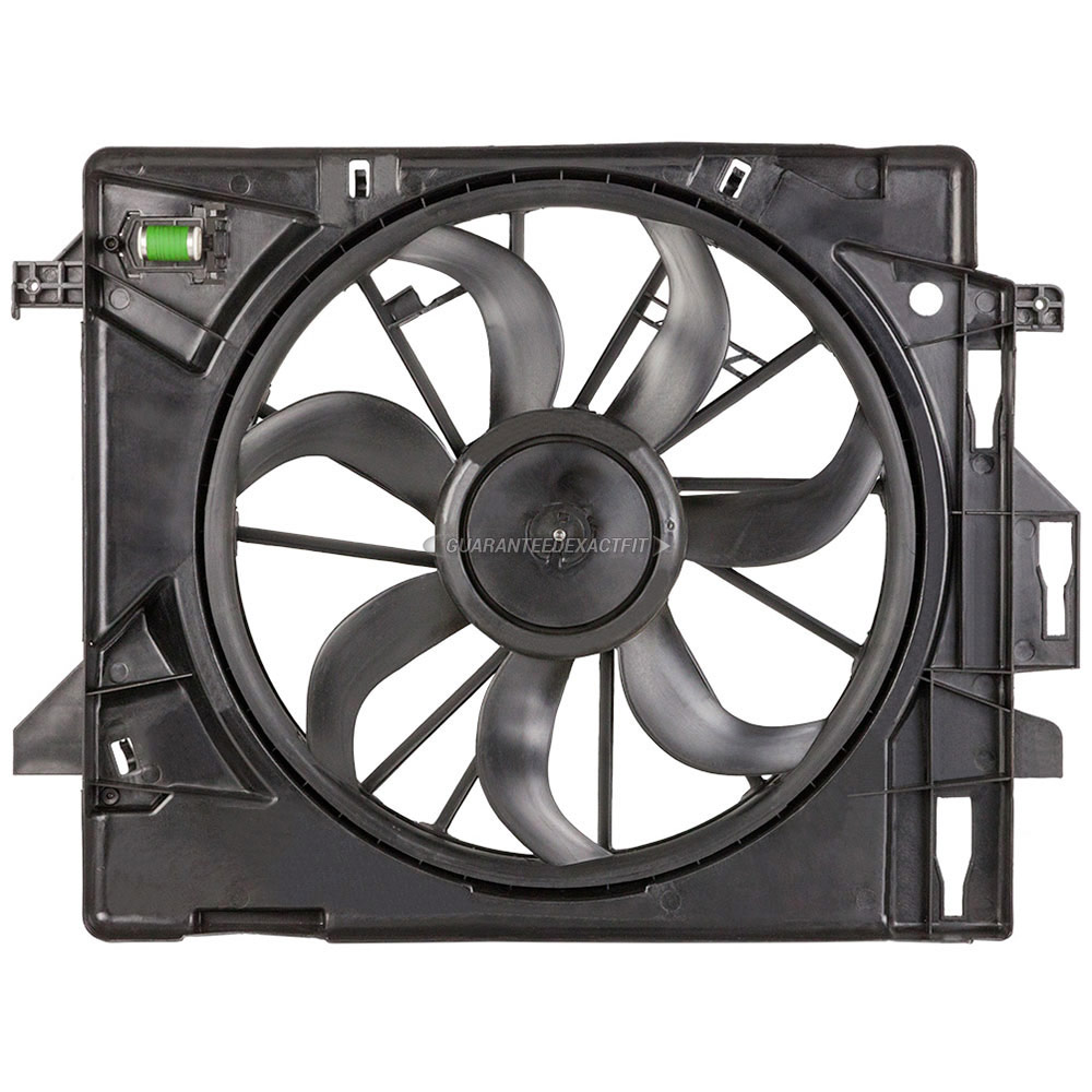 2012 Chrysler Town And Country Cooling Fan Assembly
