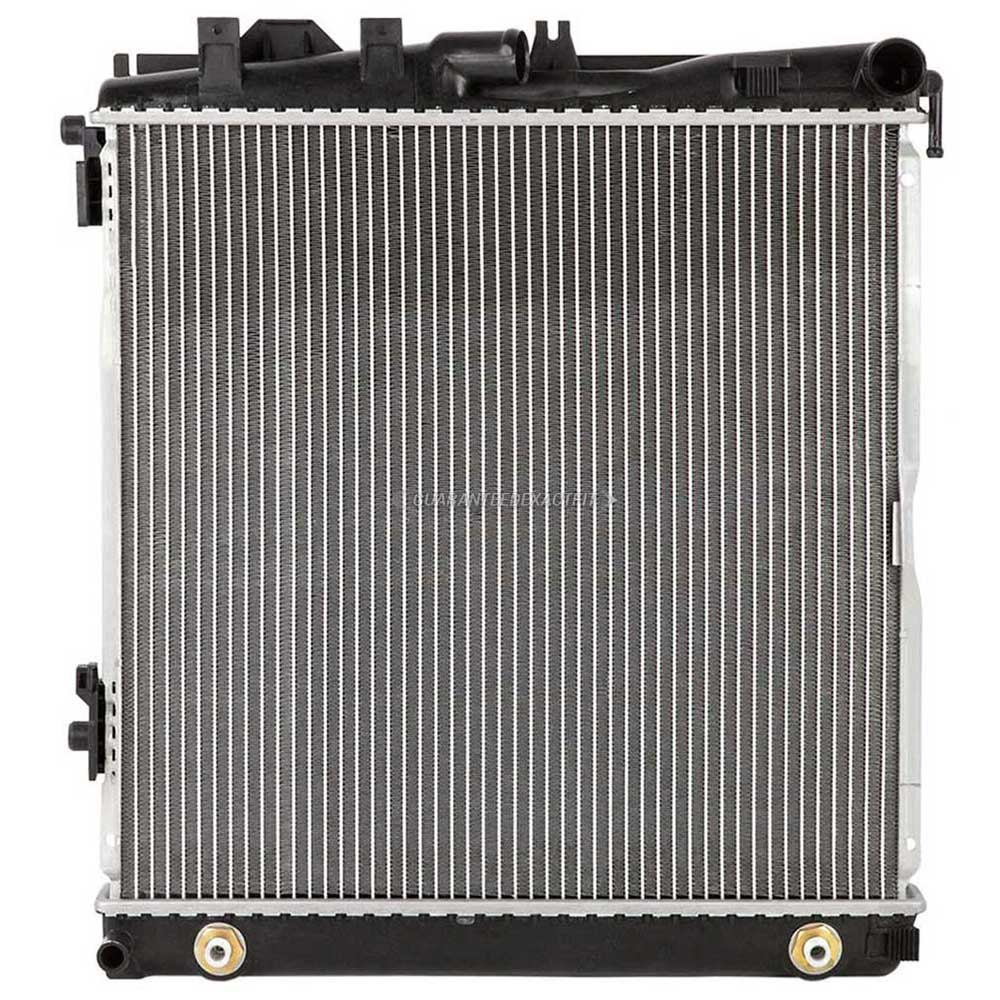 Mercedes benz 300se radiator all models for Mercedes benz coolant