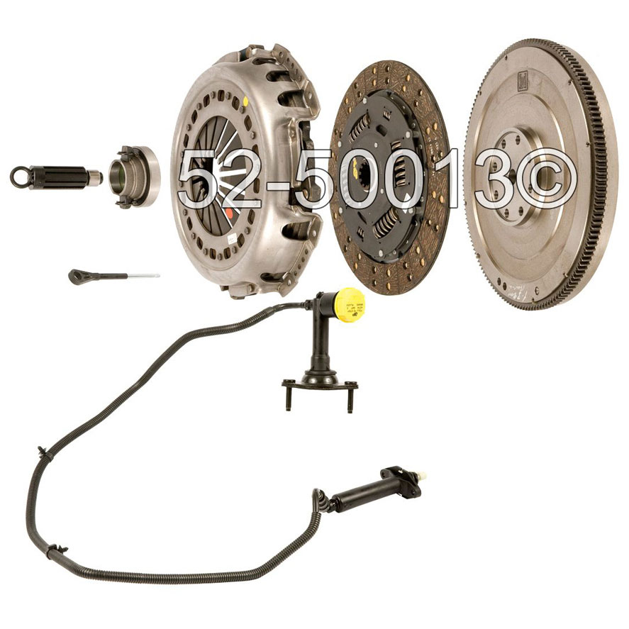 Dodge Ram Trucks Dual Mass Flywheel Conversion Kit