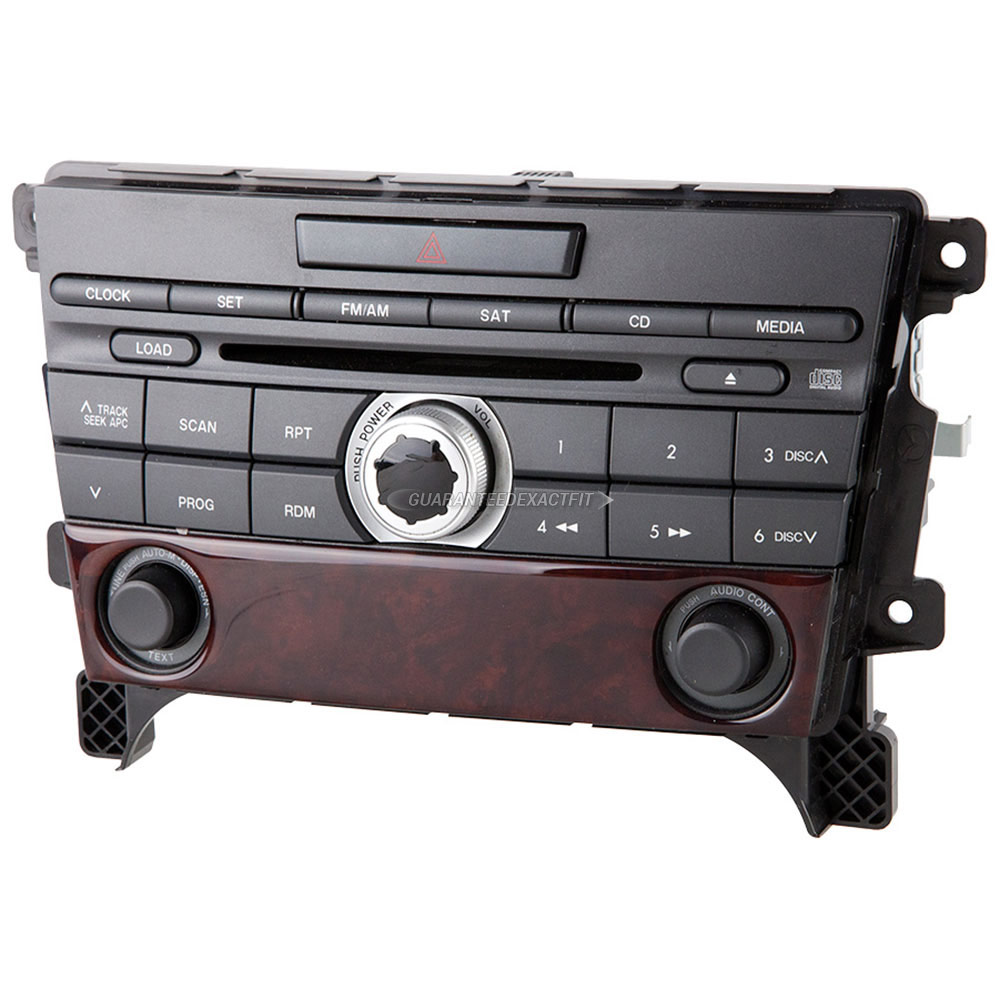 Mazda CX-7                           Radio or CD PlayerRadio or CD Player
