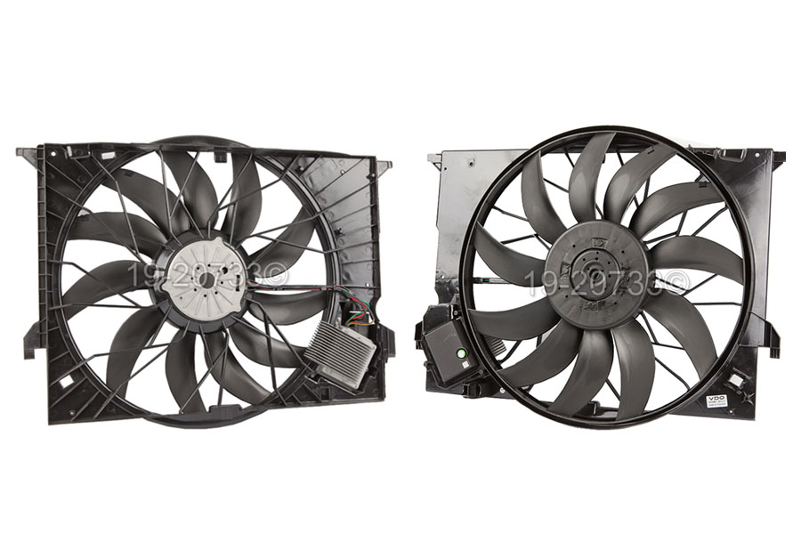 Mercedes_Benz CLS63 AMG                      Cooling Fan AssemblyCooling Fan Assembly