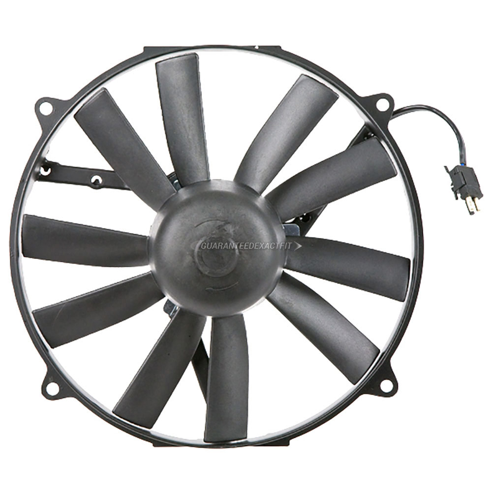 Mercedes_Benz E500                           Cooling Fan AssemblyCooling Fan Assembly