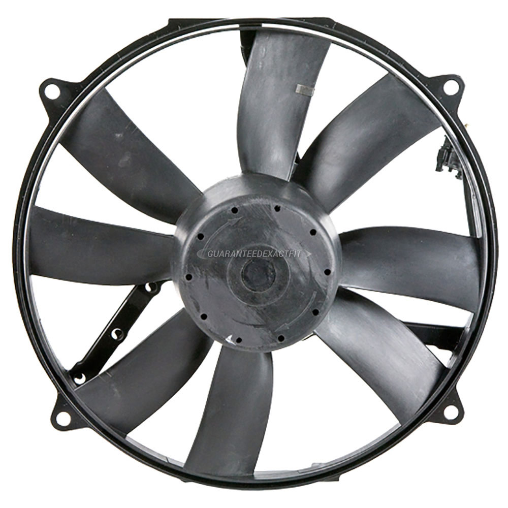 Mercedes_Benz CLK55 AMG                      Cooling Fan AssemblyCooling Fan Assembly