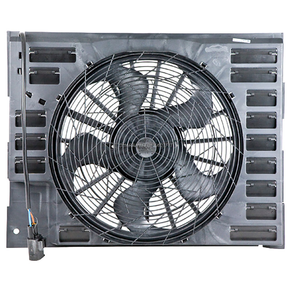 BMW 760                            Cooling Fan AssemblyCooling Fan Assembly