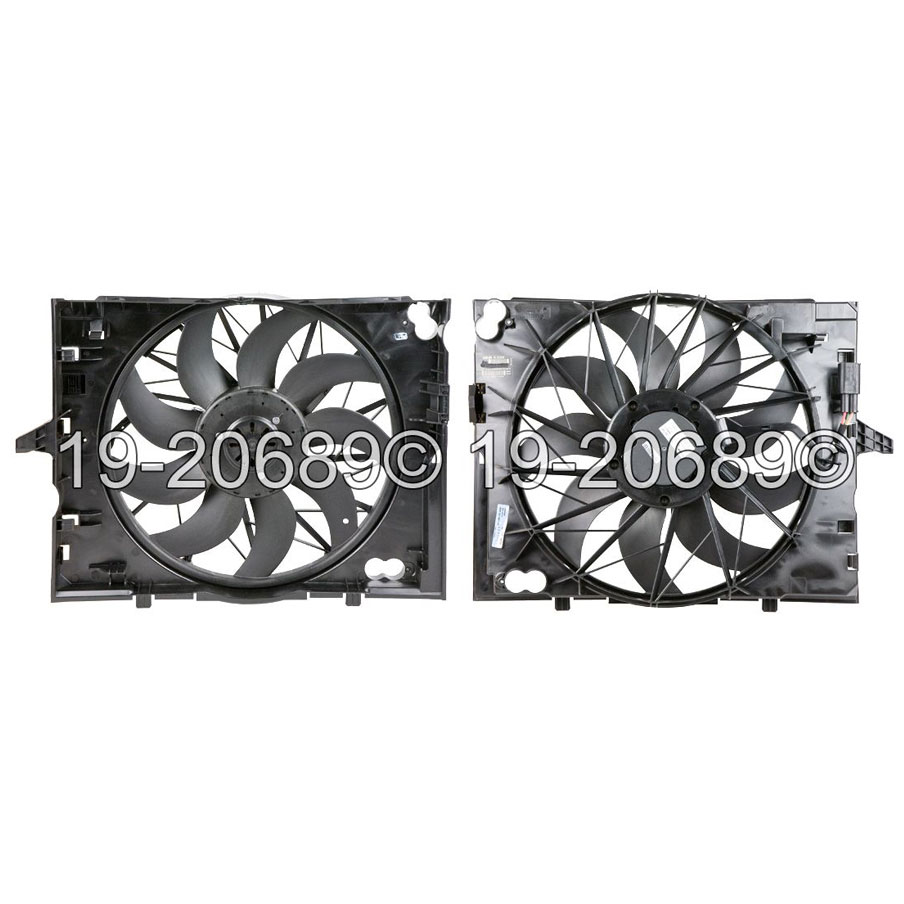 BMW 650                            Cooling Fan AssemblyCooling Fan Assembly