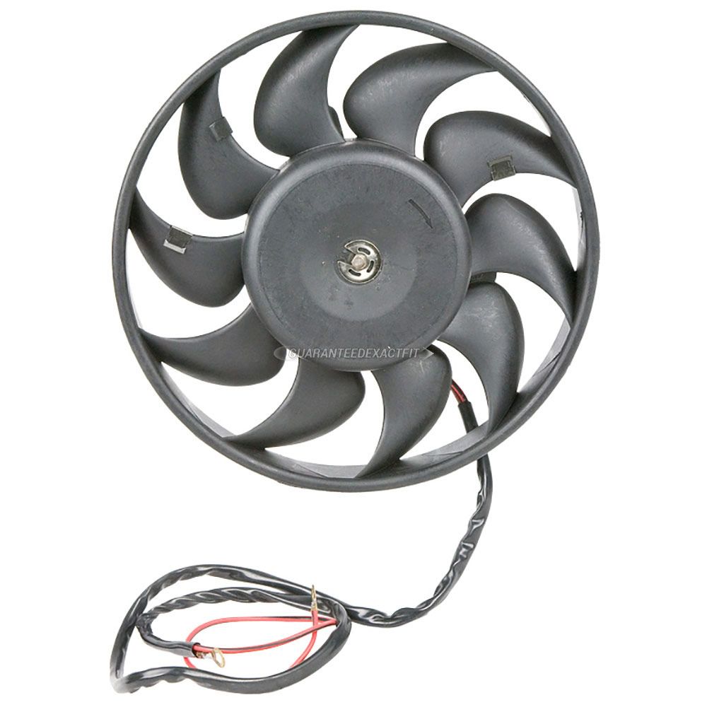 Audi Cabriolet                      Cooling Fan AssemblyCooling Fan Assembly