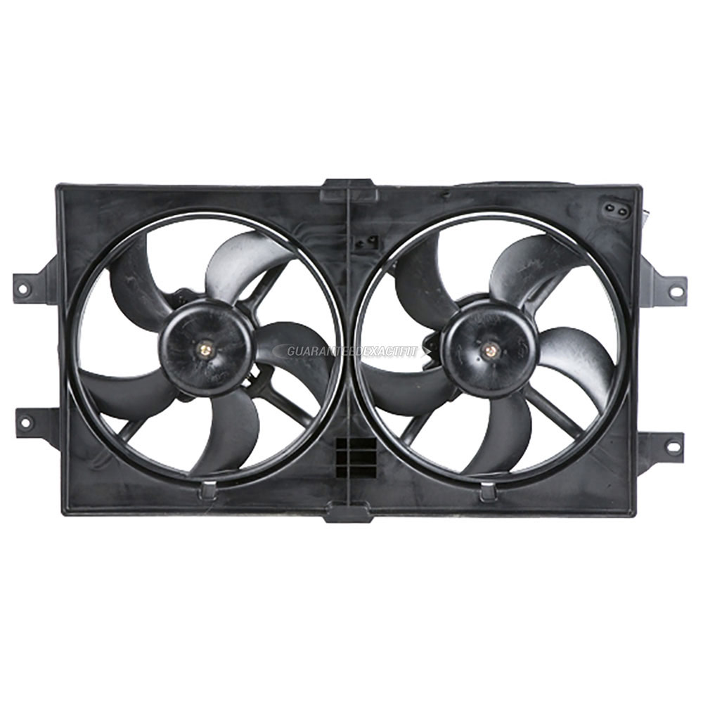 Chrysler LHS                            Cooling Fan AssemblyCooling Fan Assembly