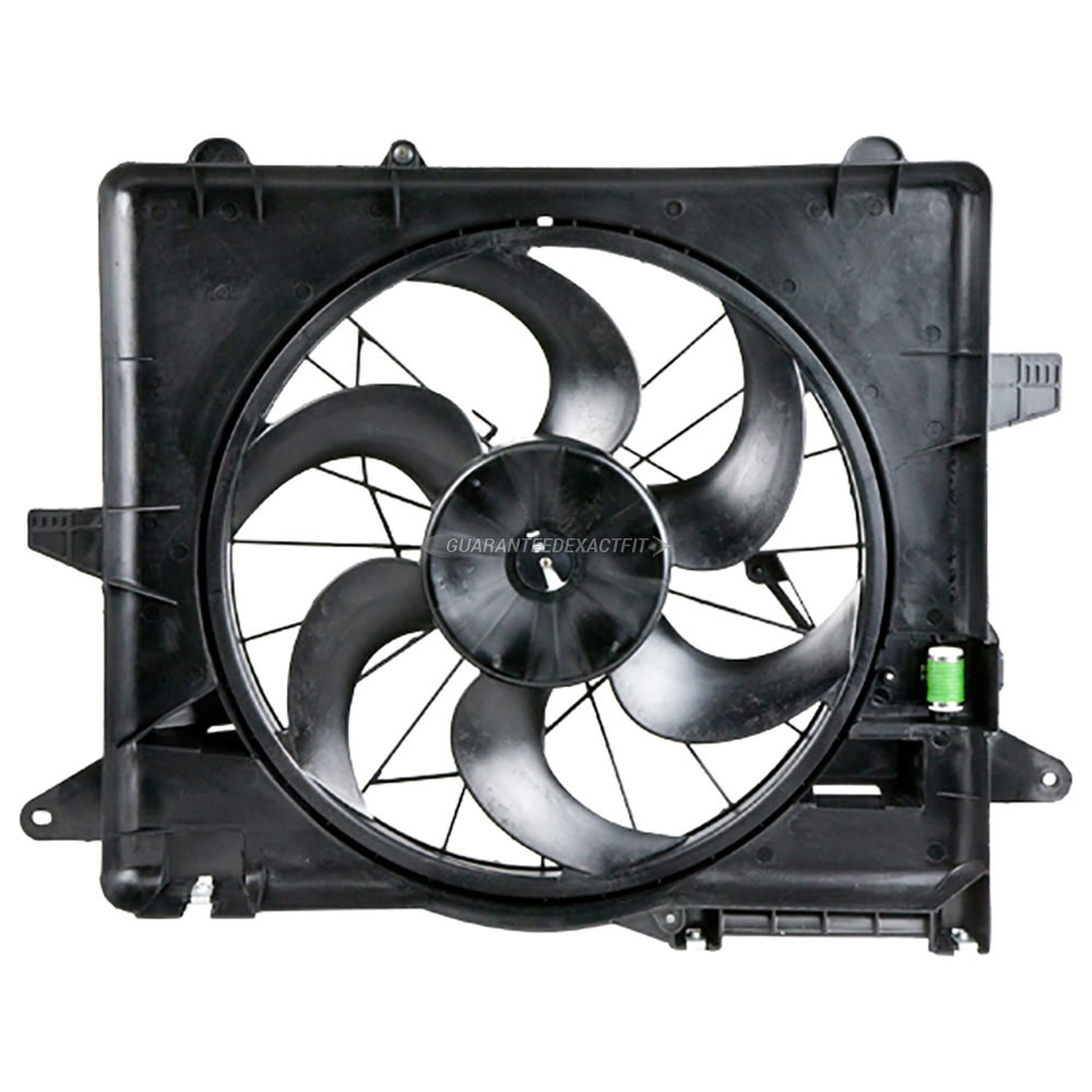 Ford Mustang                        Cooling Fan AssemblyCooling Fan Assembly