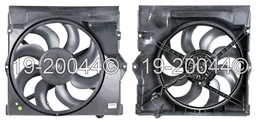BMW 325i                           Cooling Fan AssemblyCooling Fan Assembly