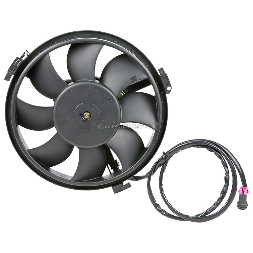 Audi S6                             Cooling Fan AssemblyCooling Fan Assembly