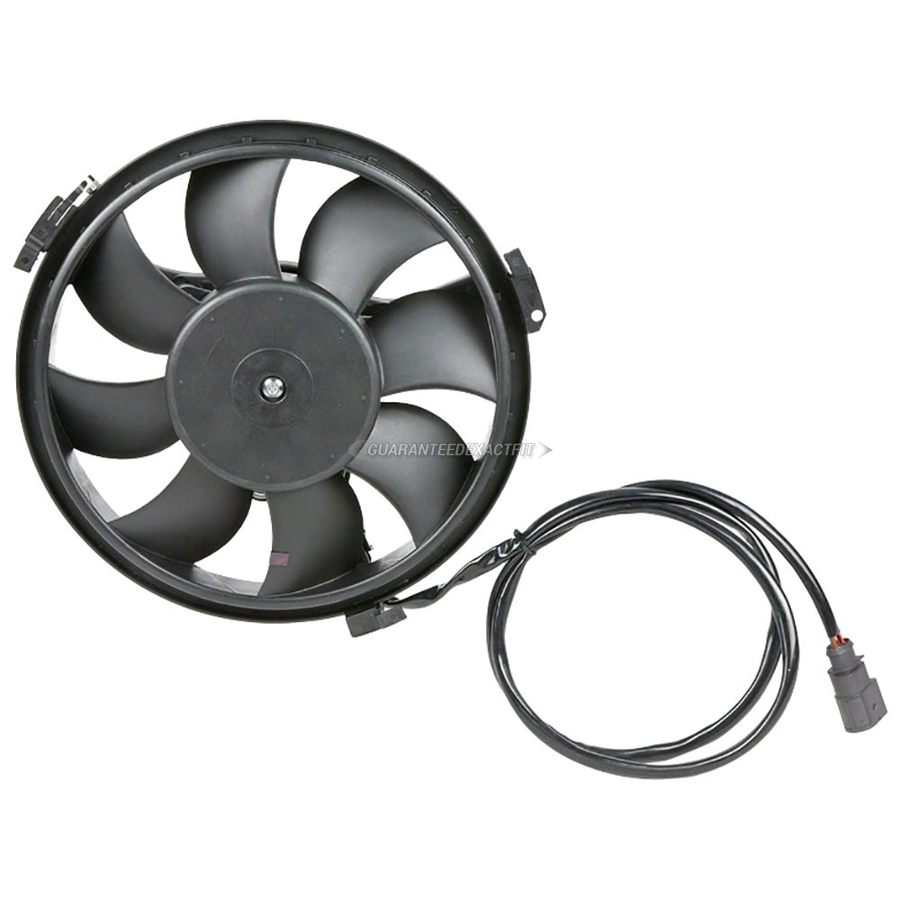 Audi A8                             Cooling Fan AssemblyCooling Fan Assembly