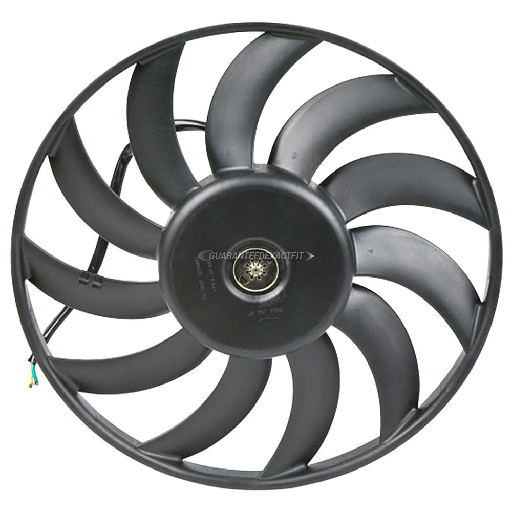 Audi A6                             Cooling Fan AssemblyCooling Fan Assembly