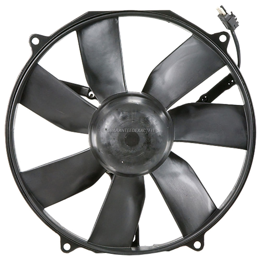 Mercedes_Benz 400SE                          Cooling Fan AssemblyCooling Fan Assembly