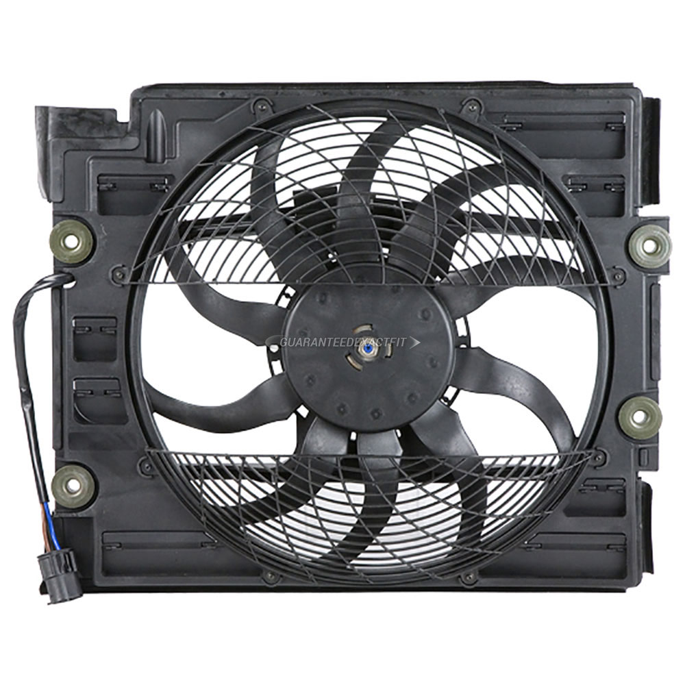 BMW 540                            Cooling Fan AssemblyCooling Fan Assembly