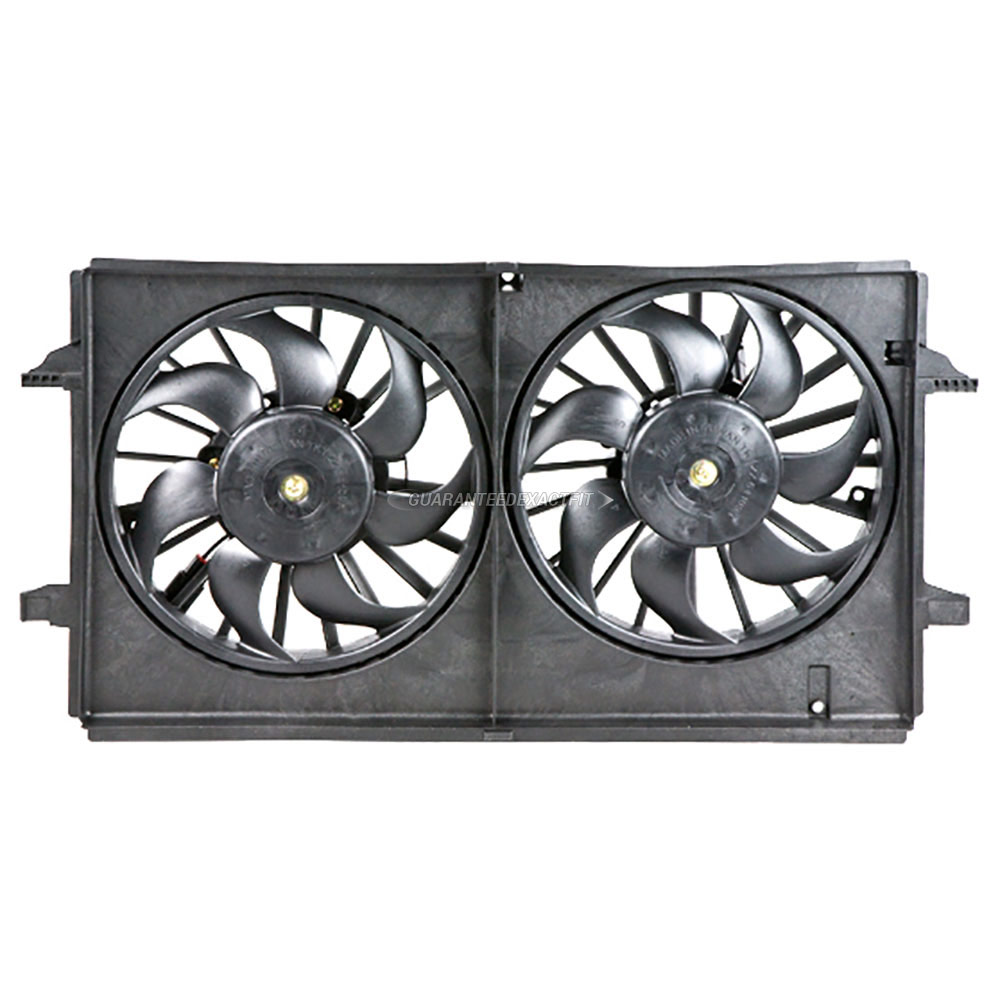 Saturn Aura                           Cooling Fan AssemblyCooling Fan Assembly