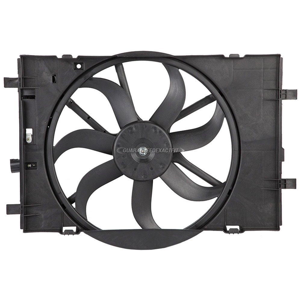 Ford Fusion                         Cooling Fan AssemblyCooling Fan Assembly