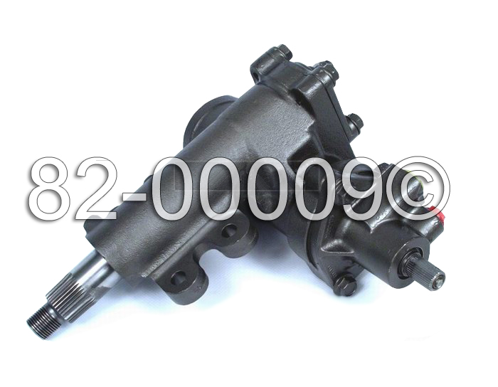 Nissan Frontier                       Power Steering Gear Box