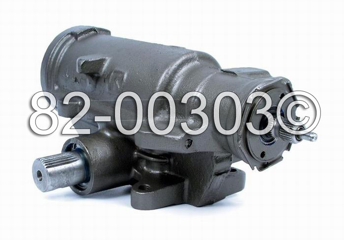 GMC Yukon                          Power Steering Gear Box