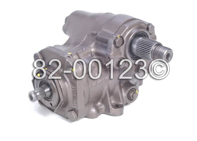 Mercedes_Benz 500SEC                         Power Steering Gear BoxPower Steering Gear Box