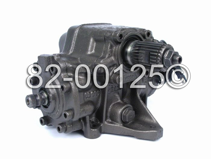 Mercedes_Benz 400SEL                         Power Steering Gear Box