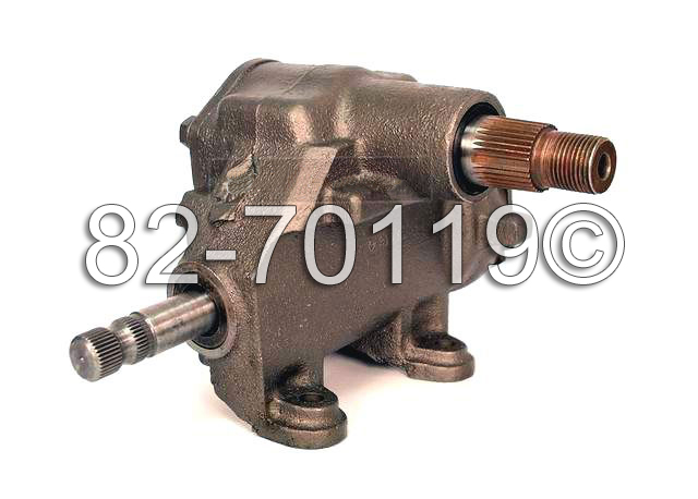 Chevrolet Bel Air                        Manual Steering Gear Box