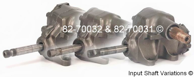 Jeep Comanche                       Manual Steering Gear Box