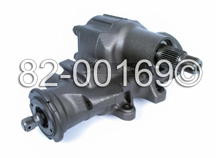 GMC Yukon                          Power Steering Gear BoxPower Steering Gear Box