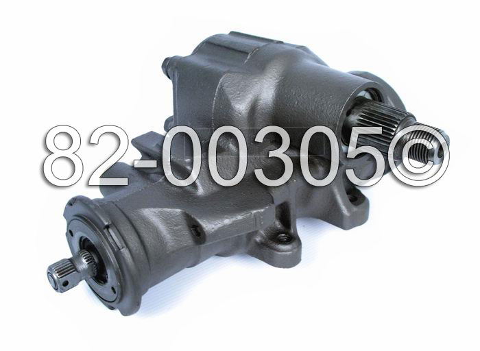 Cadillac Fleetwood                      Power Steering Gear Box