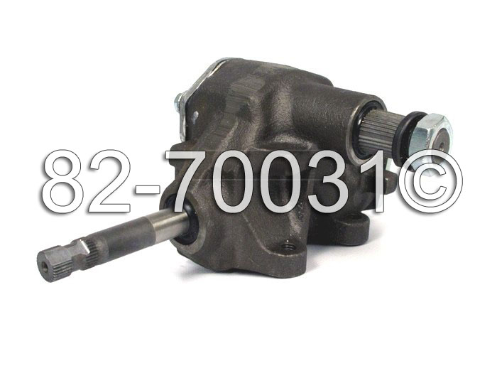 Chevrolet El Camino                      Manual Steering Gear Box