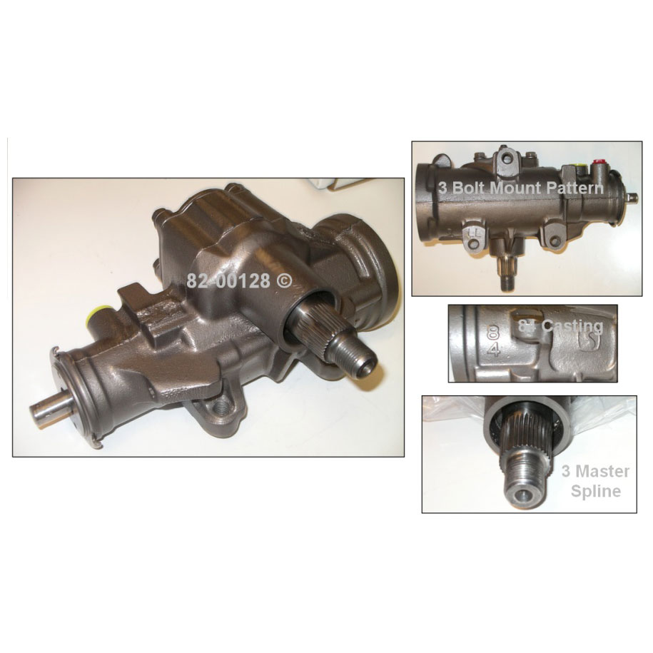 GMC Sierra                         Power Steering Gear BoxPower Steering Gear Box