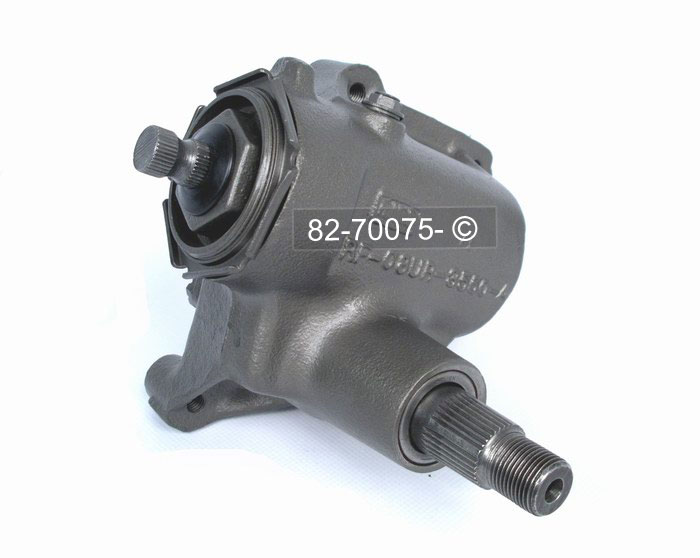Ford E Series Van                   Manual Steering Gear Box