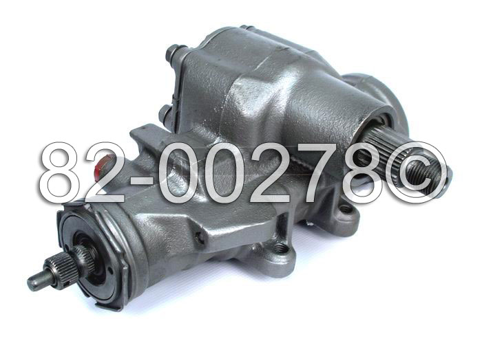 Pontiac Astro Van                      Power Steering Gear Box