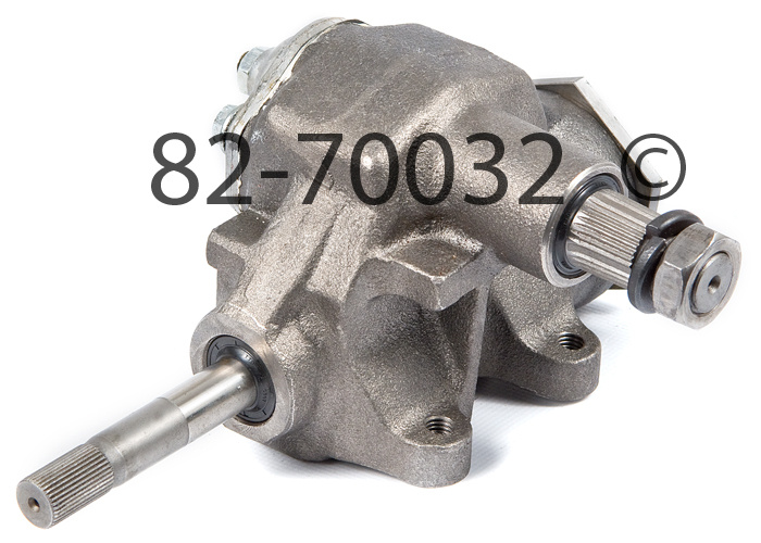 Chevrolet Camaro                         Manual Steering Gear BoxManual Steering Gear Box