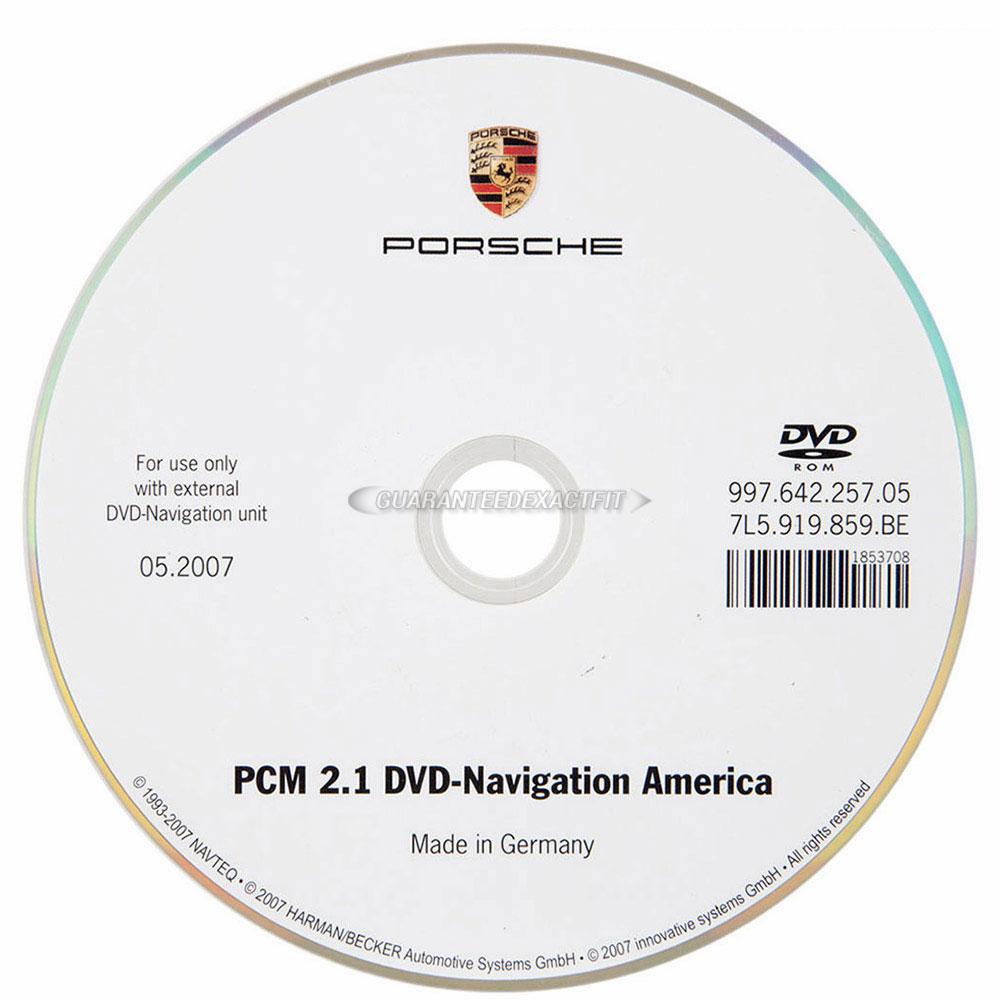 Porsche Cayman                         Navigation DVD