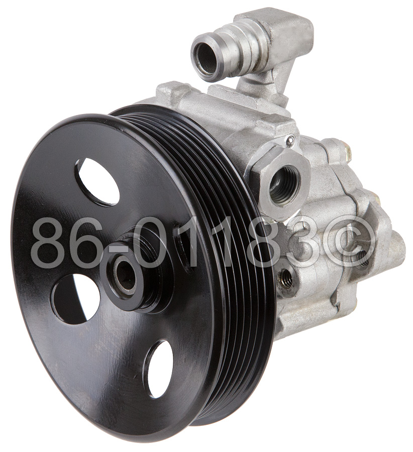 Mercedes_Benz E55 AMG                        Steering PumpSteering Pump