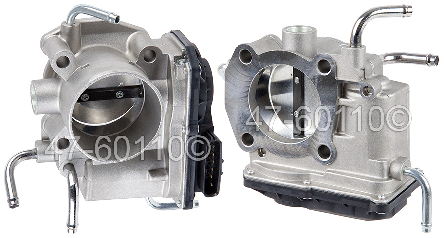 Toyota RAV4                           Throttle BodyThrottle Body
