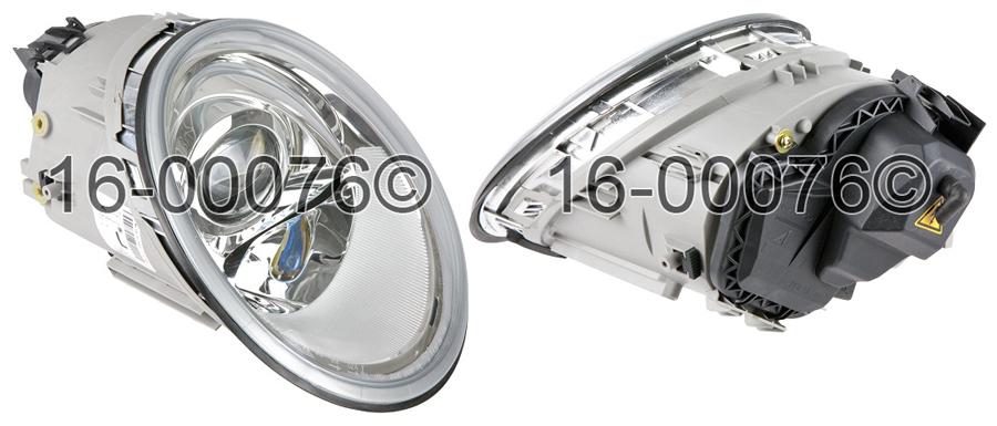 Volkswagen Beetle                         Headlight Assembly