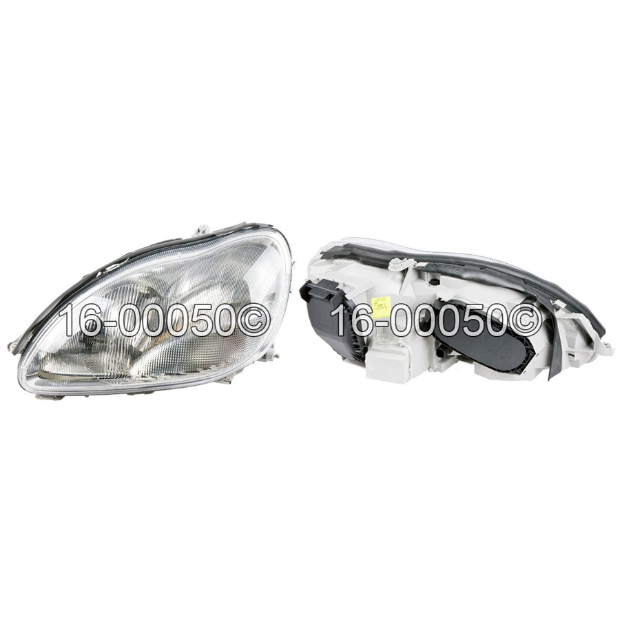 Mercedes_Benz S430                           Headlight Assembly