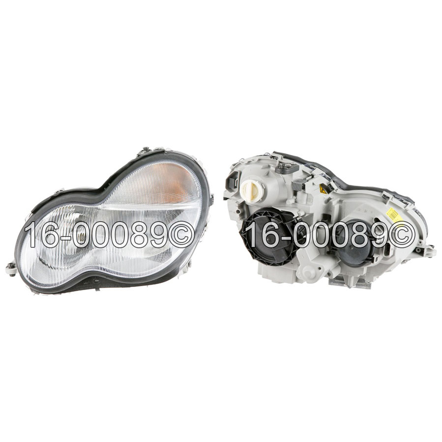 Mercedes_Benz C32 AMG                        Headlight Assembly